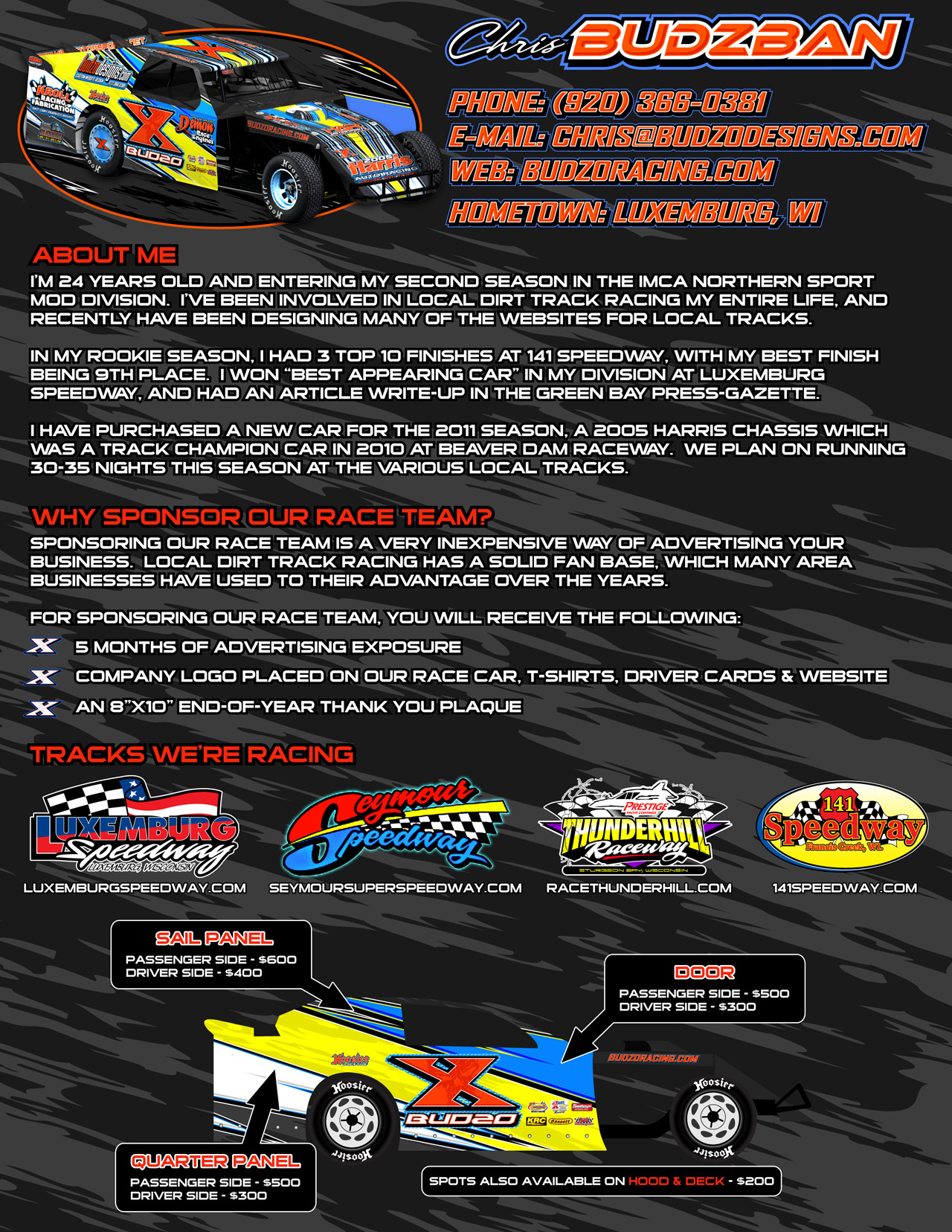 Free Racing Sponsorship Proposal Template. 40+ Sponsorship Letter ...